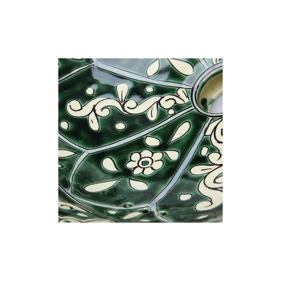 Žalia vonios kriauklė iš Meksikos