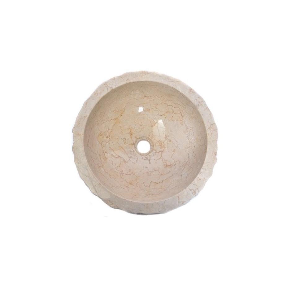 Kreminė akmeninė kriauklė