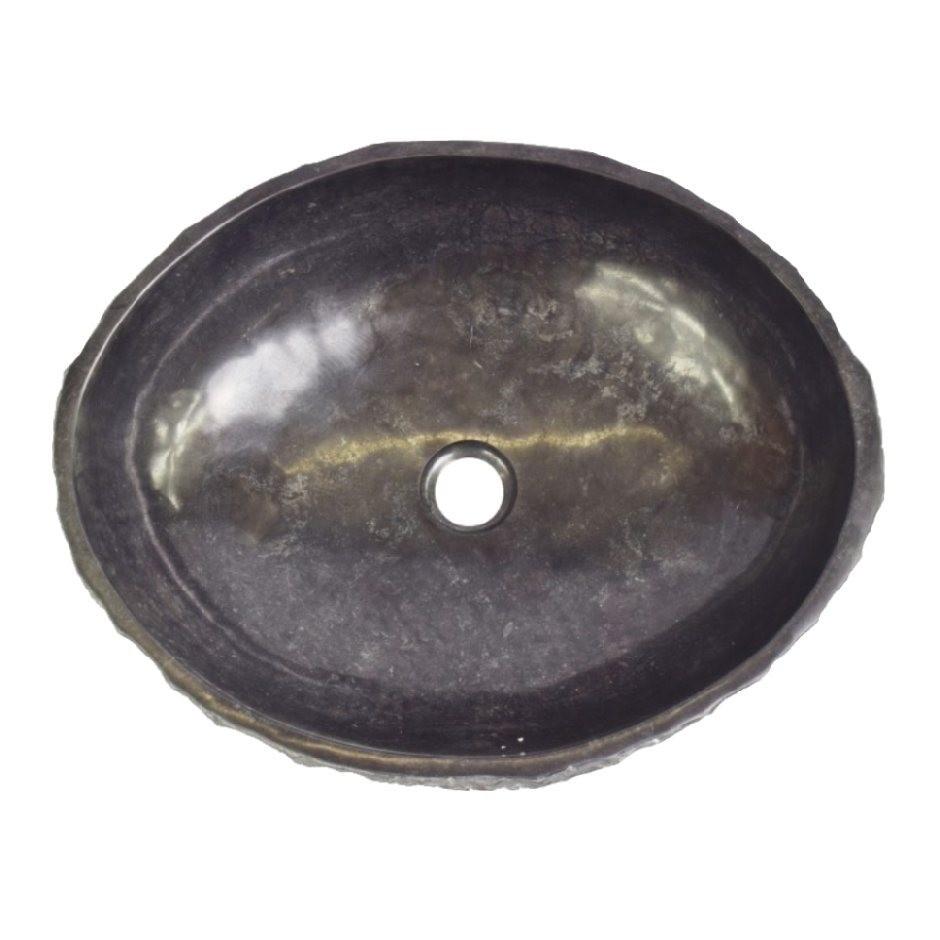 Akmeninė juoda kriauklė Jūsų namams