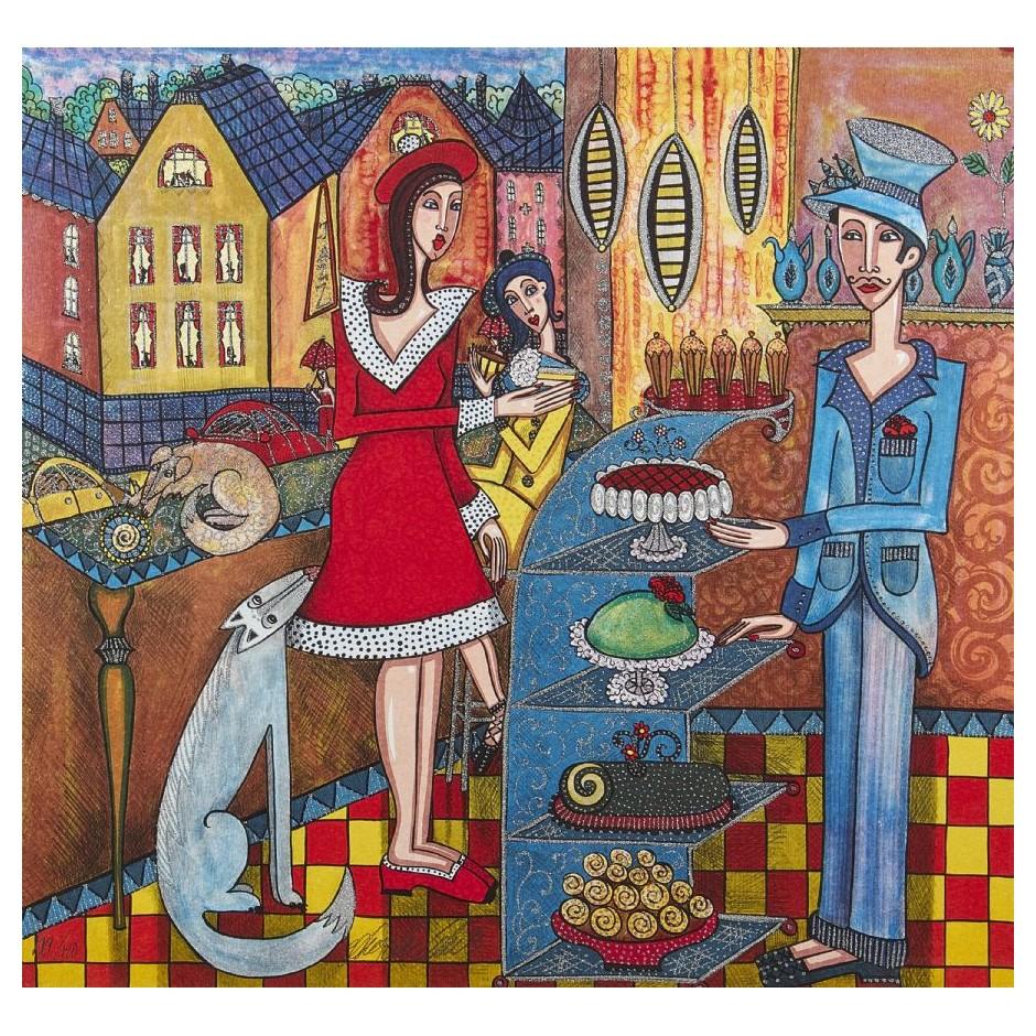 """Paveiklas """"Cafe Ritorno"""", Angelica Wiik"""