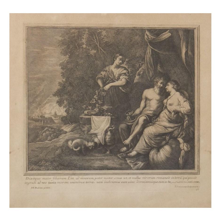 Graviūra pagal Peter Paul Rubensa 1702 m.