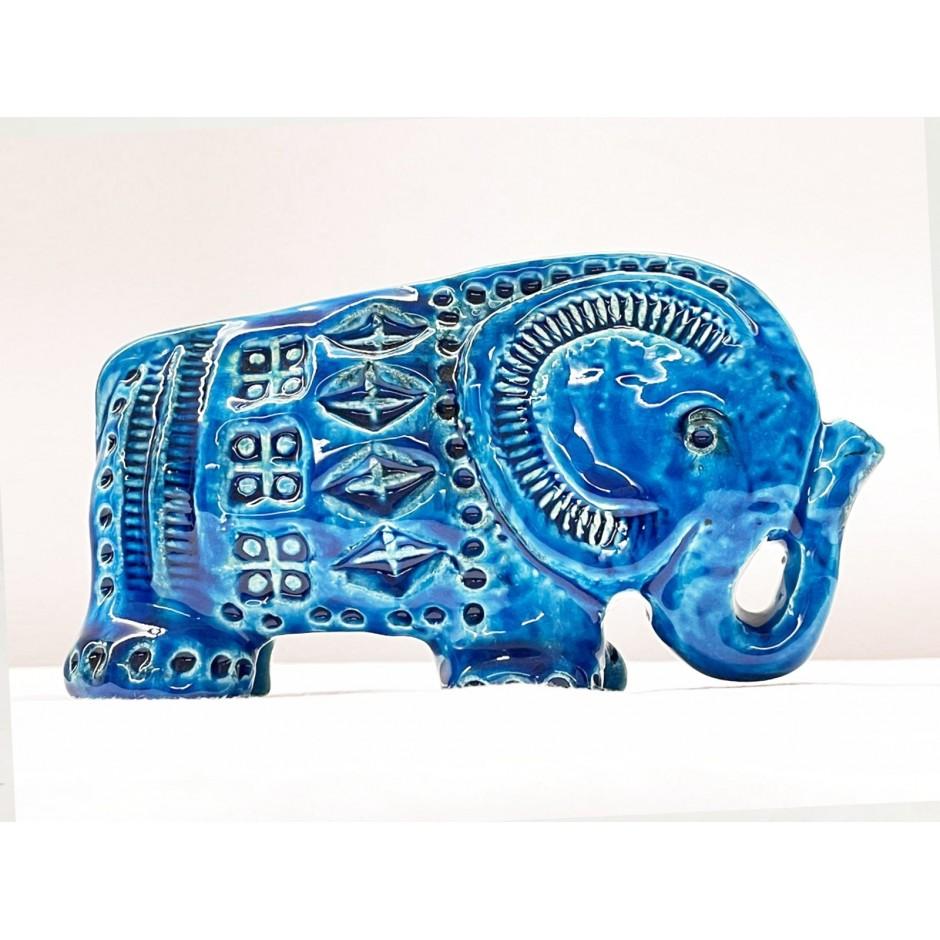 """Aldo Londi Bitossi Rimini Blu keramika """"Dramblys"""""""