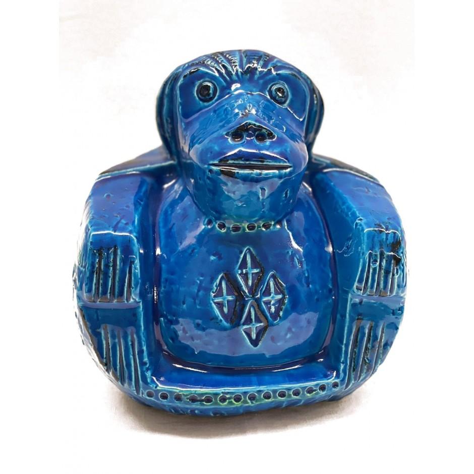 """Itališka keramika Bitossi, sklptorius Aldo Londi """"Ilgas katinas"""""""